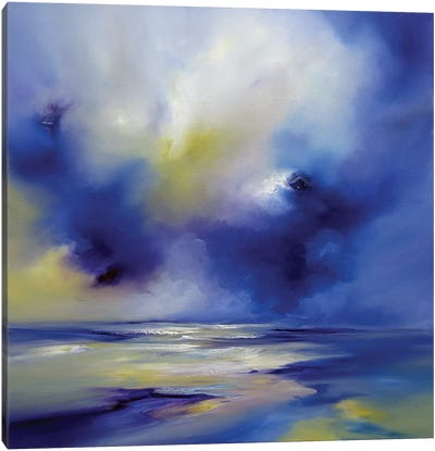 Blue Symphony II Canvas Art Print