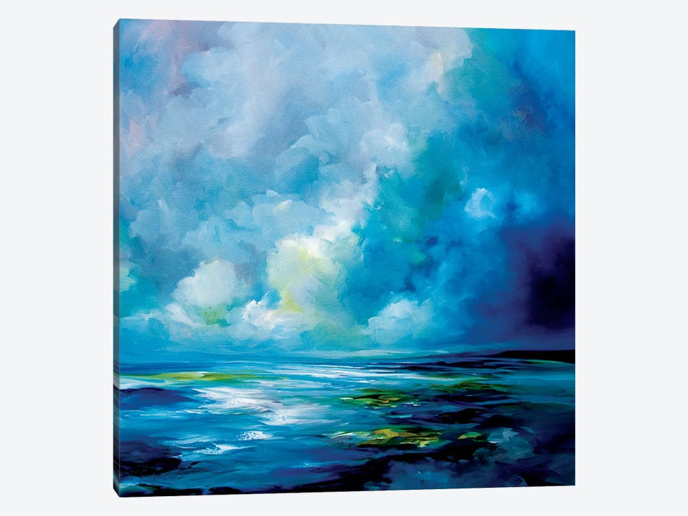 Blue Velvet by J.A Art 1-piece Canvas Wall Art