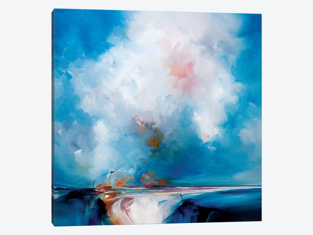 Glow In The Blue by J.A Art 1-piece Canvas Print