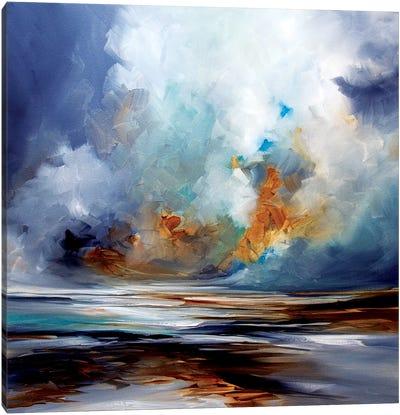 Sand Spin Canvas Art Print