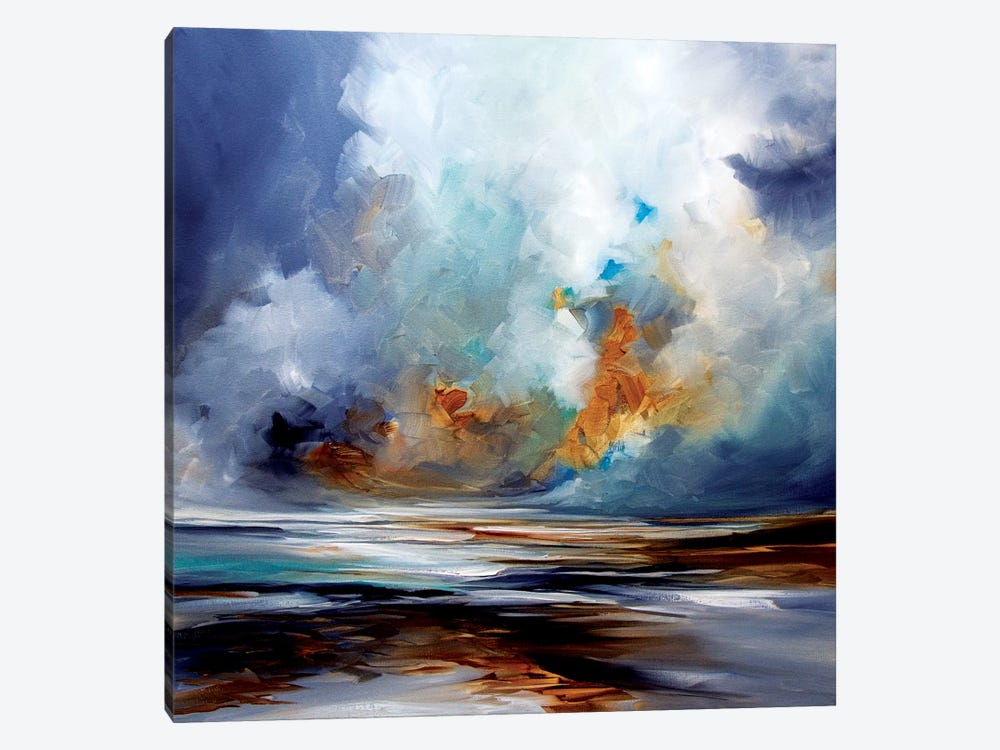 Sand Spin by J.A Art 1-piece Canvas Wall Art