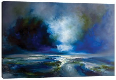 Blue Meaning Canvas Art Print