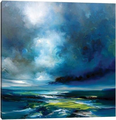 Blue Storm Canvas Art Print