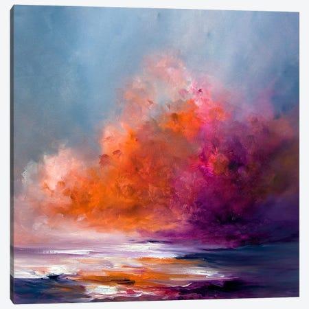 Heat On Canvas Print #JAB56} by J.A Art Canvas Art Print