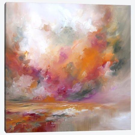 Colour Burst Canvas Print #JAB5} by J.A Art Canvas Art Print