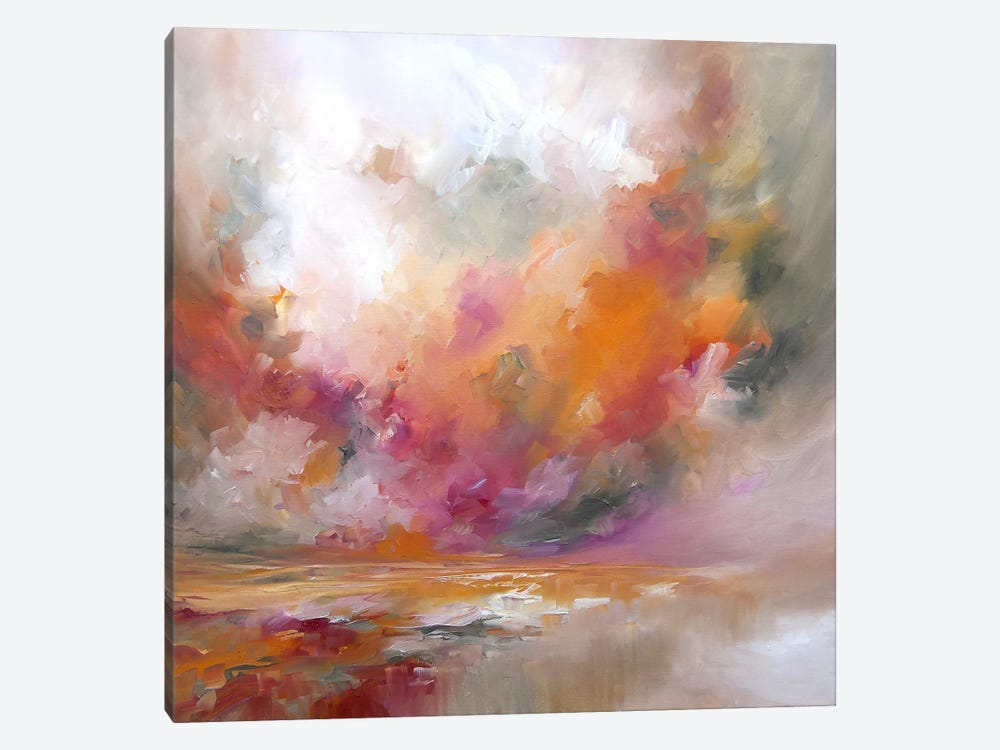 Colour Burst by J.A Art 1-piece Canvas Artwork