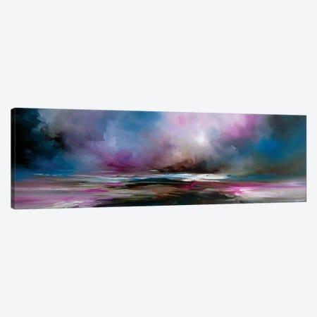 Night Fall 3-Piece Canvas #JAB60} by J.A Art Art Print