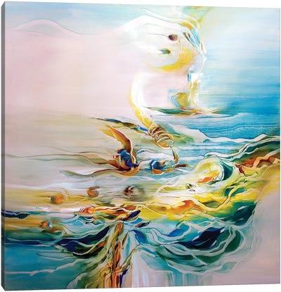 Angel Fish Canvas Art Print