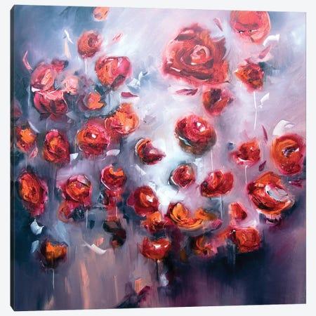Cheerfulness Canvas Print #JAB70} by J.A Art Canvas Wall Art