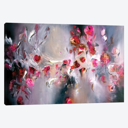 Dance Of Late Summer Canvas Print #JAB71} by J.A Art Canvas Art