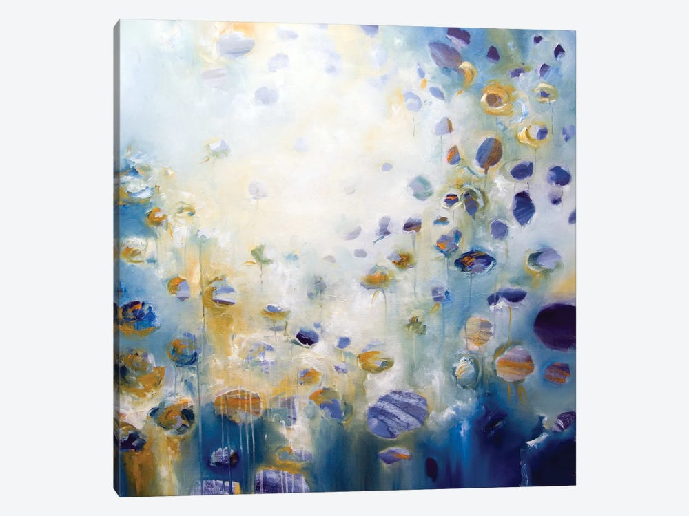 Drawn To The Light by J.A Art 1-piece Canvas Print