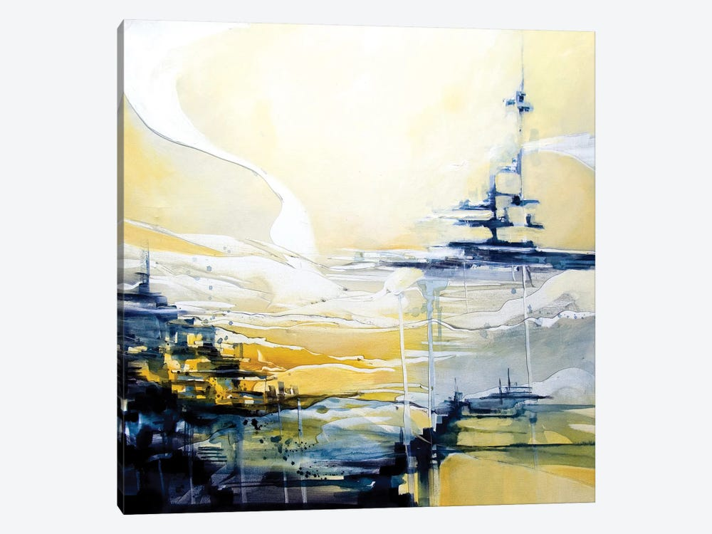 Fernway by J.A Art 1-piece Canvas Print