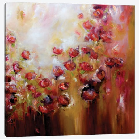 Festival Of Colours Canvas Print #JAB75} by J.A Art Canvas Print
