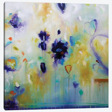 Romance Canvas Print #JAB78} by J.A Art Canvas Artwork