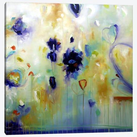 Dance Of Summer Canvas Print #JAB7} by J.A Art Canvas Art Print