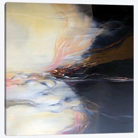 Soft Veils Canvas Print #JAB82} by J.A Art Art Print