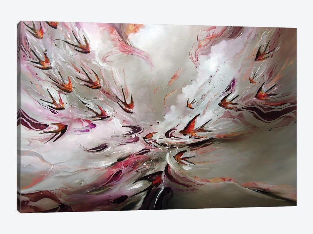 Together Flight by J.A Art 1-piece Canvas Print