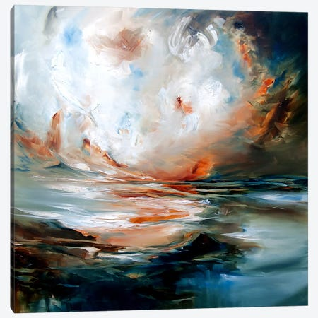 Echo Canvas Print #JAB8} by J.A Art Canvas Art