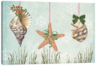 Christmas Coastal Collection A Canvas Art Print