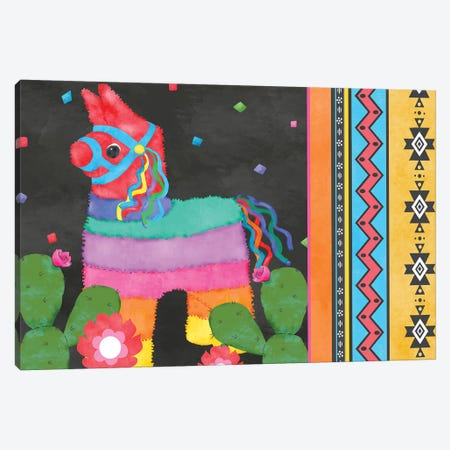 Piñata Party Collection A Canvas Print #JAD108} by Jade Reynolds Canvas Print