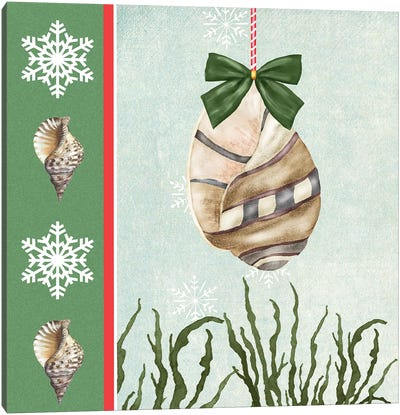 Christmas Coastal IV Canvas Art Print