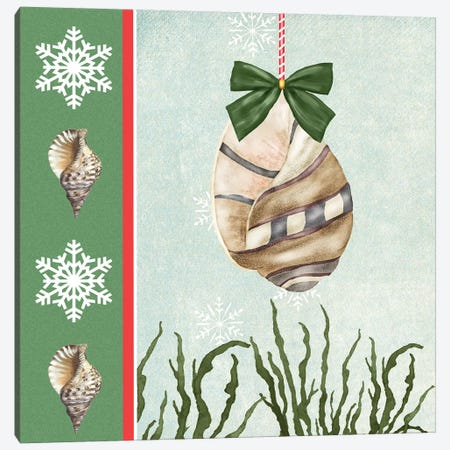 Christmas Coastal IV Canvas Print #JAD10} by Jade Reynolds Canvas Art