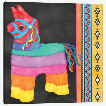 Piñata Party I Canvas Print #JAD110} by Jade Reynolds Canvas Wall Art