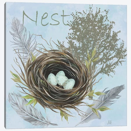 Nesting Collection I Canvas Print #JAD114} by Jade Reynolds Canvas Print