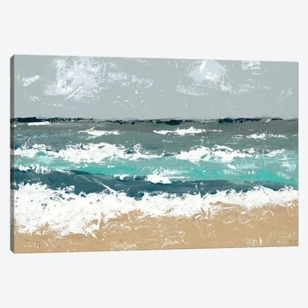 The Breakers II Canvas Print #JAD119} by Jade Reynolds Canvas Wall Art