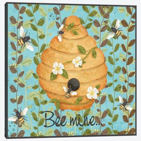 Bees & Honey I Canvas Print #JAD122} by Jade Reynolds Art Print