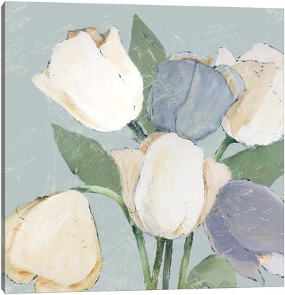 French Tulips II Canvas Art Print