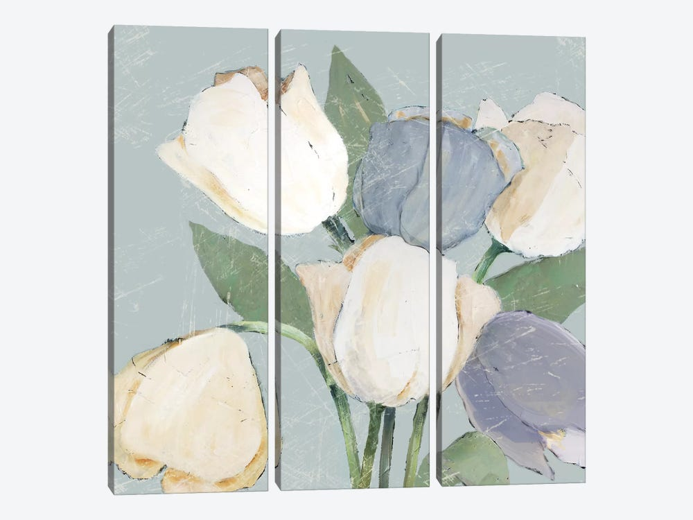 French Tulips II by Jade Reynolds 3-piece Art Print