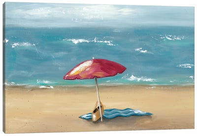 By The Beach I Canvas Art Print