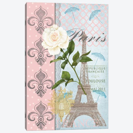 La Vie en Rose II Canvas Print #JAD14} by Jade Reynolds Canvas Print