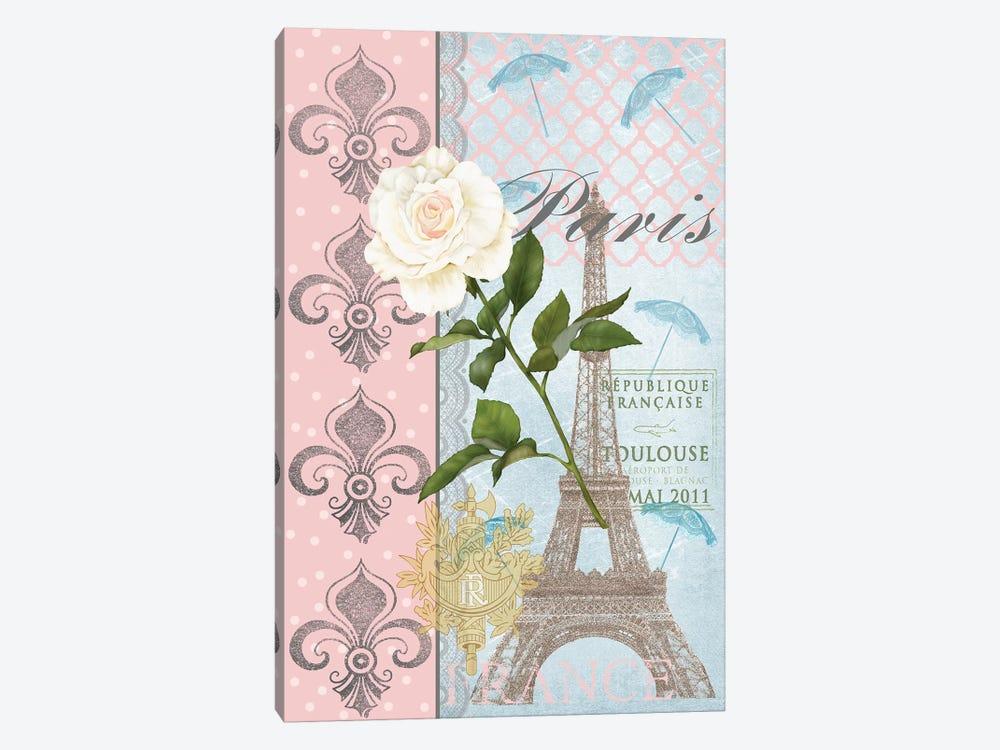 La Vie en Rose II by Jade Reynolds 1-piece Canvas Art Print