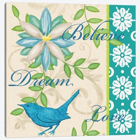 Bright Inspiration I Canvas Print #JAD27} by Jade Reynolds Canvas Wall Art