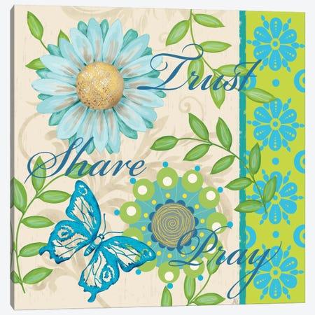 Bright Inspiration II Canvas Print #JAD28} by Jade Reynolds Art Print