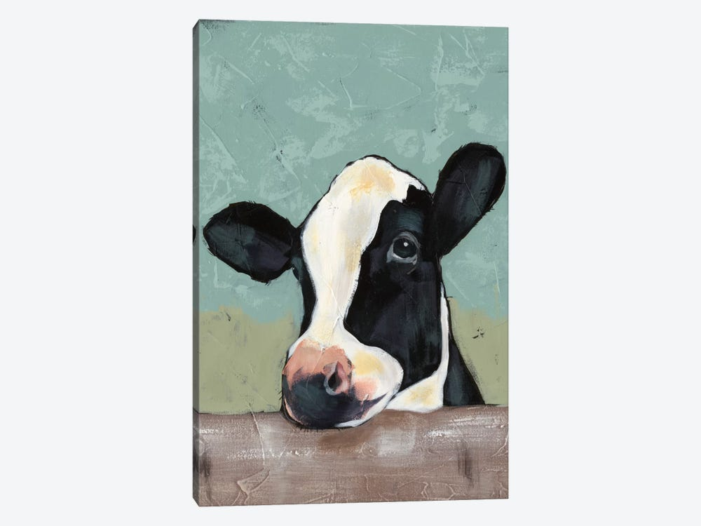 Holstein Cow II by Jade Reynolds 1-piece Canvas Art Print