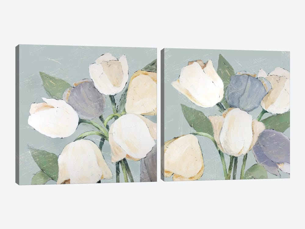 French Tulips Diptych by Jade Reynolds 2-piece Art Print