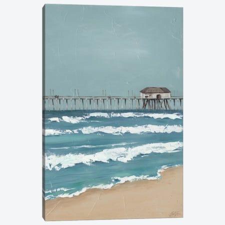 Fishing Pier Diptych II Canvas Print #JAD30} by Jade Reynolds Canvas Artwork