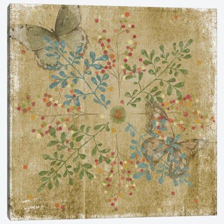 Nature Tile I 3-Piece Canvas #JAD33} by Jade Reynolds Canvas Artwork