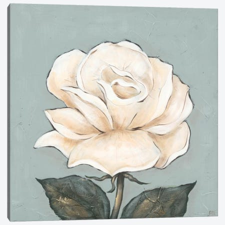 One Tan Rose Canvas Print #JAD35} by Jade Reynolds Canvas Art Print