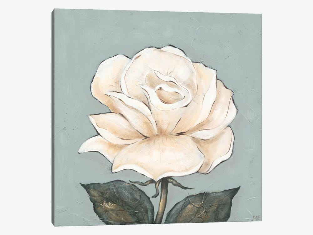 One Tan Rose by Jade Reynolds 1-piece Canvas Art