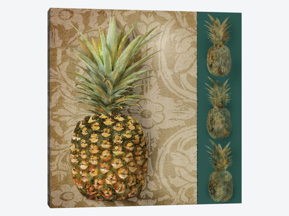 Pineapple Welcome I by Jade Reynolds 1-piece Art Print
