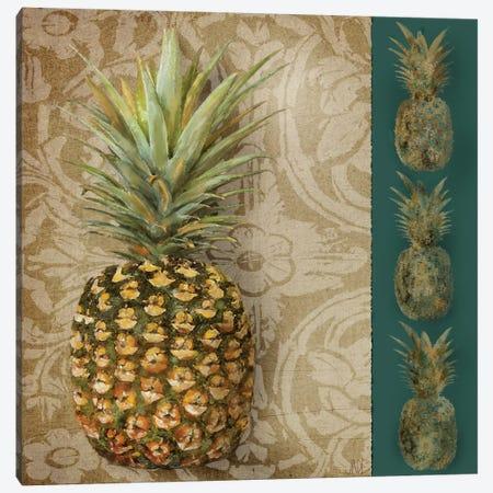 Pineapple Welcome I Canvas Print #JAD36} by Jade Reynolds Canvas Art Print