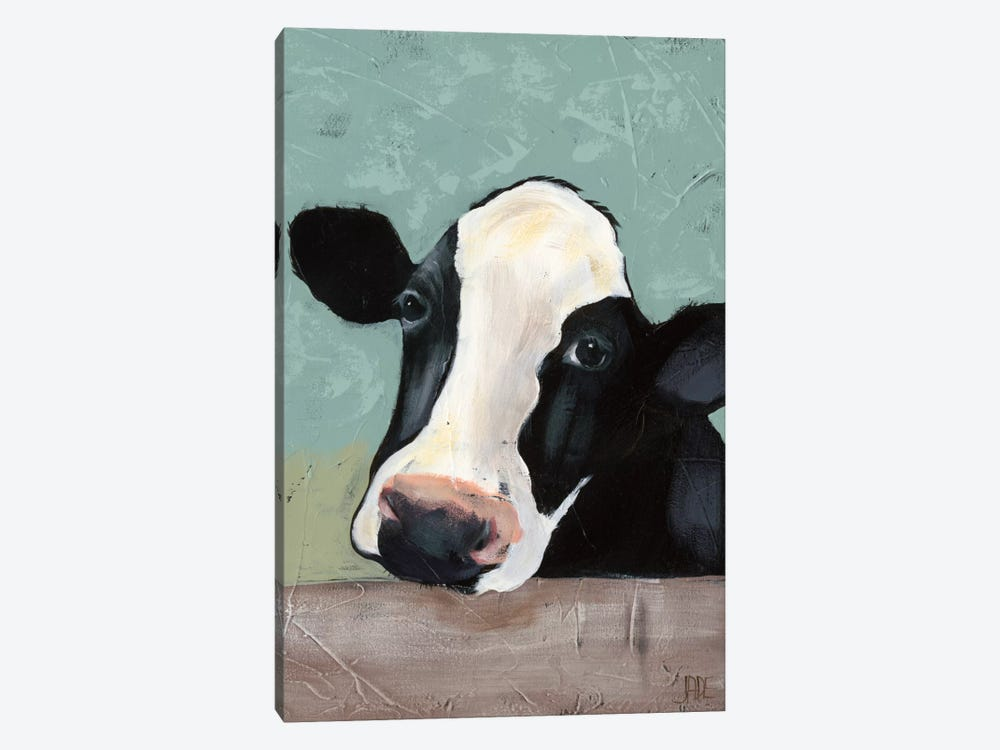 Holstein Cow III by Jade Reynolds 1-piece Canvas Wall Art