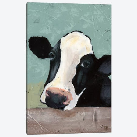 Holstein Cow III Canvas Print #JAD3} by Jade Reynolds Canvas Art