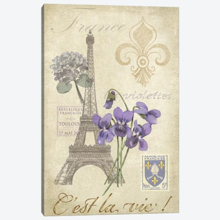 Paris Tour I Canvas Print #JAD41} by Jade Reynolds Canvas Print