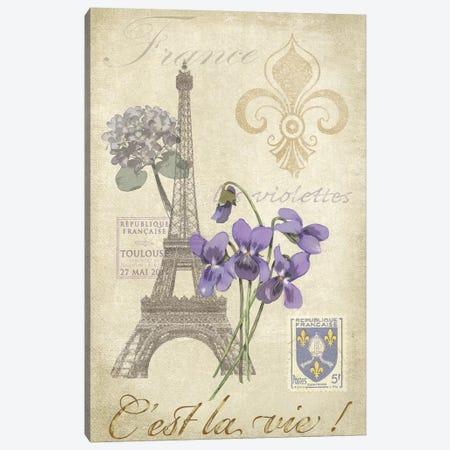 Paris Tour I Canvas Print #JAD41} by Jade Reynolds Canvas Print