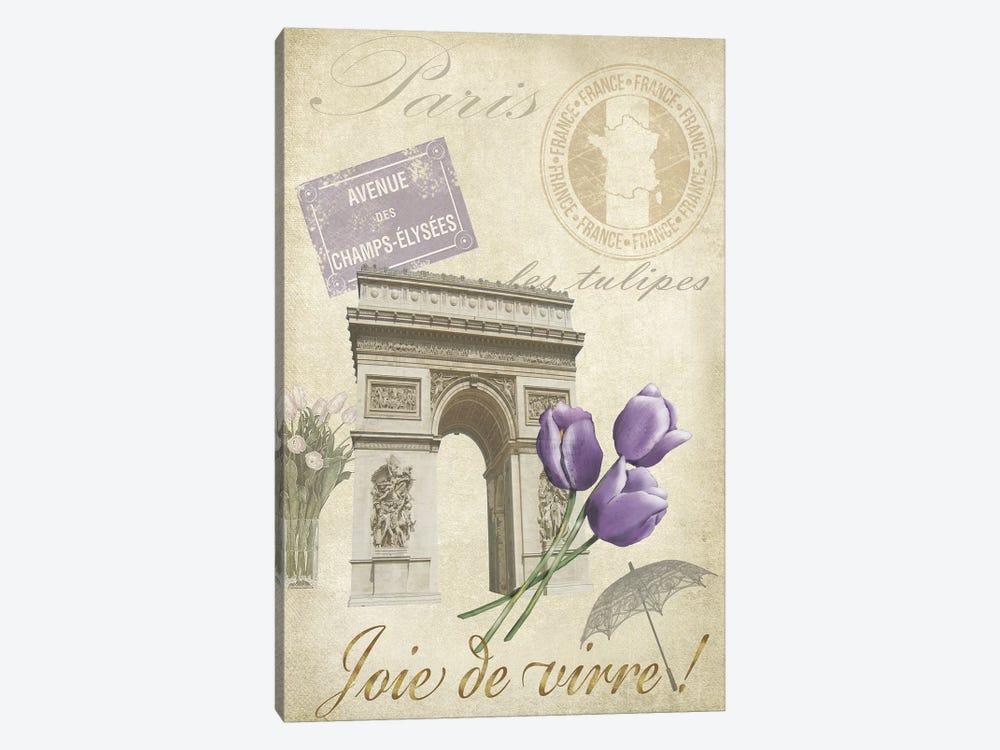Paris Tour II by Jade Reynolds 1-piece Canvas Art